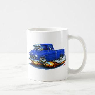 Caneca De Café Caminhão 1955 do azul do recolhimento de Chevy