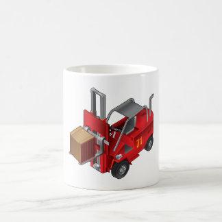 Caneca De Café Caminhão de empilhadeira