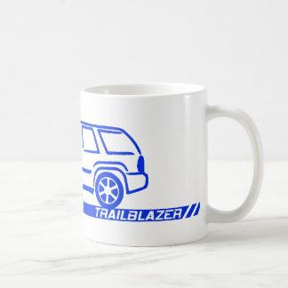 Caneca De Café Caminhão do azul do pioneiro
