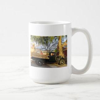 Caneca De Café Caminhão modelo de T