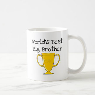 Caneca De Café Camiseta e presentes do big brother do campeão