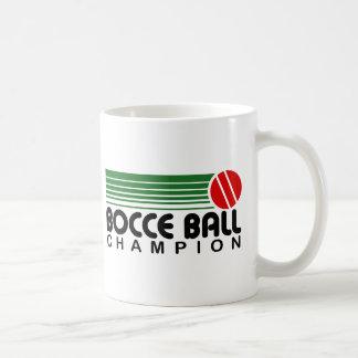 Caneca De Café Campeão da bola de Bocce