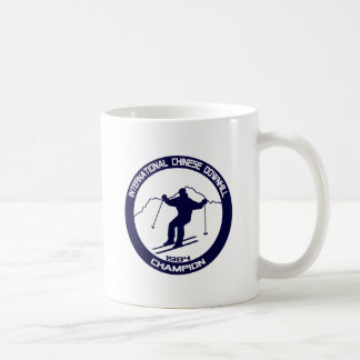 Caneca De Café Campeão em declive chinês internacional 1984