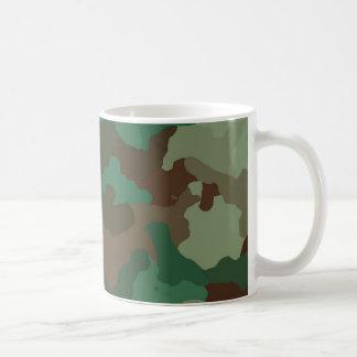 Caneca De Café Camuflagem, militar