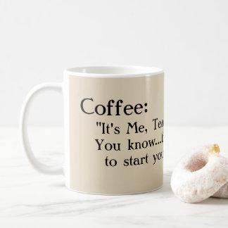 """Caneca De Café """"Caneca de café engraçada e doce, para meu"""
