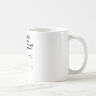 """Caneca De Café """"Caneca engraçada do geek da matemática da função"""