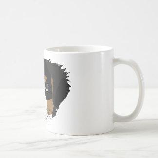 Caneca De Café Cão de montanha de Bernese da ilustração