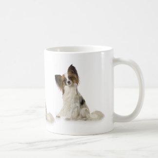 Caneca De Café Cão de Papillon