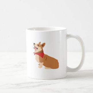 Caneca De Café Cão do Corgi