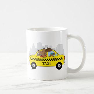 Caneca De Café Cão do táxi de New York