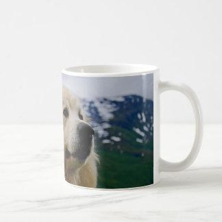 Caneca De Café Cão pirenaico da montanha
