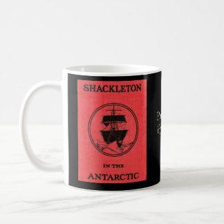 Caneca De Café Capa do livro de Shackleton e PIC antárcticos de