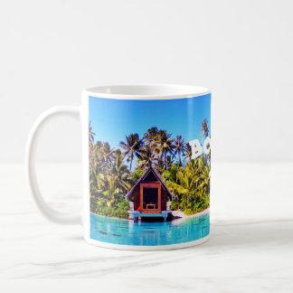 Caneca De Café Capela Drinkware do casamento de Bora Bora