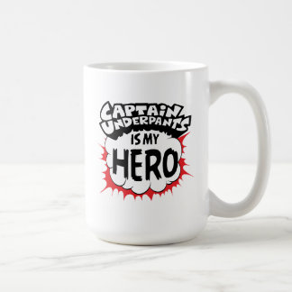 Caneca De Café Capitão Cuecas | meu herói
