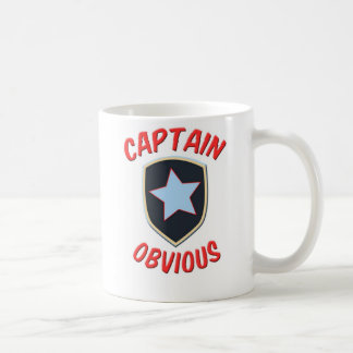Caneca De Café Capitão Óbvio