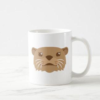 Caneca De Café cara da lontra