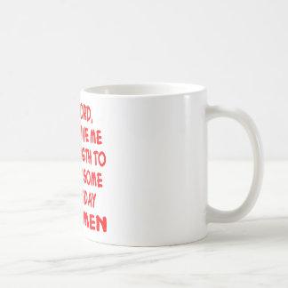 Caneca De Café Cara força do senhor Por favor Doação Me a não