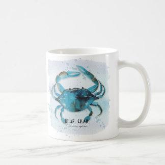 Caneca De Café Caranguejo azul