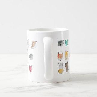 Caneca De Café Caráteres animais bonitos e irrisórios COPO