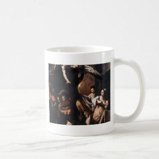 Caneca De Café Caravaggio - os sete trabalhos da pintura do