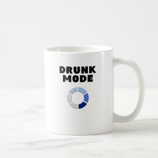Caneca De Café carga bêbeda do modo, presente engraçado do design