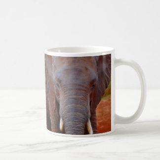 Caneca De Café Carga dos elefantes