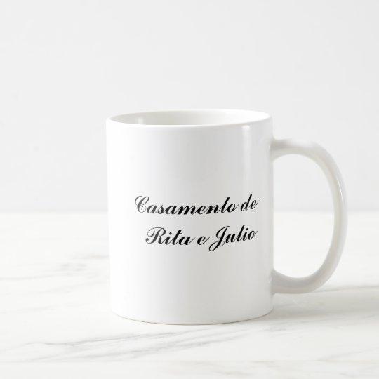 Caneca De Café Caricaturas de casamento