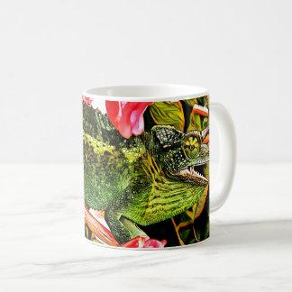 Caneca De Café Carisma do camaleão