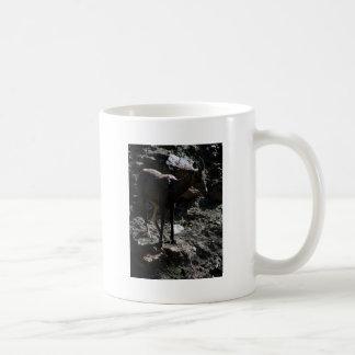 Caneca De Café Carneiros de Bighorn da montanha rochosa, ovelha