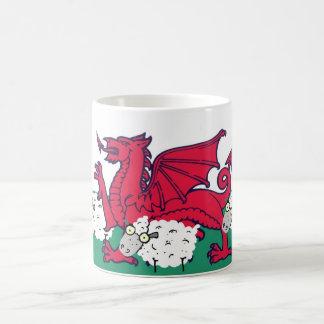Caneca De Café carneiros de galês