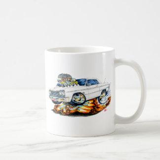 Caneca De Café Carro 1964 do branco do Impala