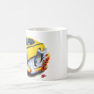 Caneca De Café Carro 1970-74 do amarelo do espanador de Plymouth