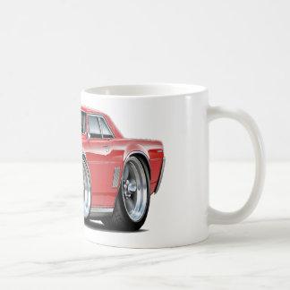 Caneca De Café Carro do vermelho de 1964 GTO