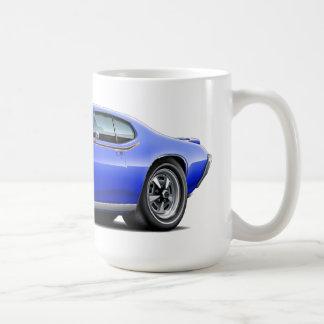 Caneca De Café Carro escondido azul do farol do juiz de 1969 GTO