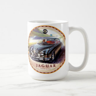 Caneca De Café Carros do bar da marca 2 de Jaguar
