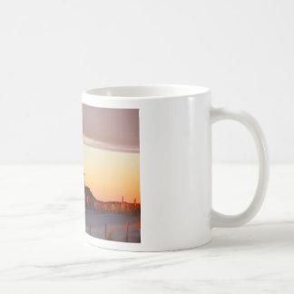 Caneca De Café Casa no por do sol - 1
