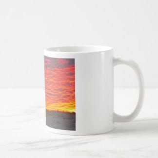 Caneca De Café Casa no por do sol - 2