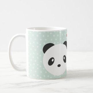 Caneca De Café Casal da panda
