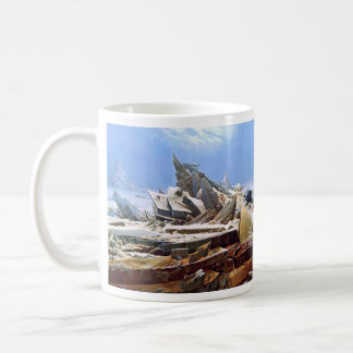 Caneca De Café CASPAR DAVID FRIEDRICH - o mar do gelo 1824
