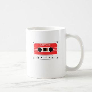 Caneca De Café Cassete de banda magnética de Mixtape por Chillee