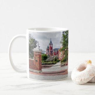 Caneca de café castanha-aloirada de Alabama