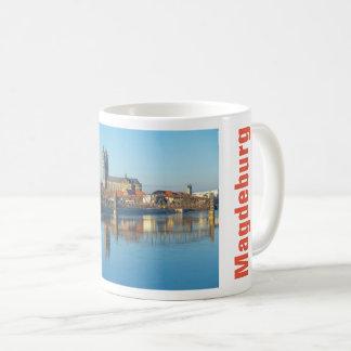 Caneca De Café Catedral de Magdeburgo com rio Elbe 01.2.T