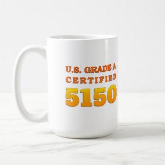 Caneca De Café Categoria dos E.U. uns 5150 certificados