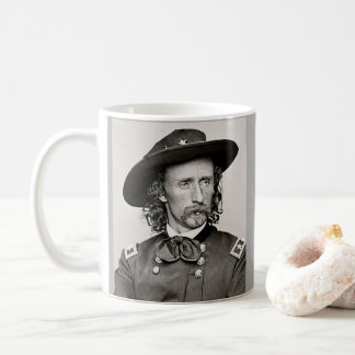 Caneca De Café Cavalaria do general George Armstrong Custer a 7a