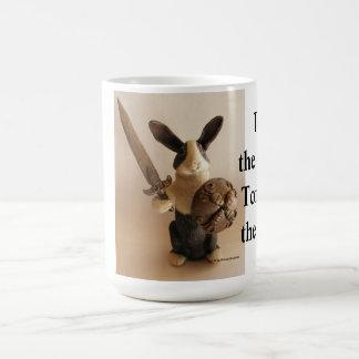 Caneca De Café Cavaleiro do coelho