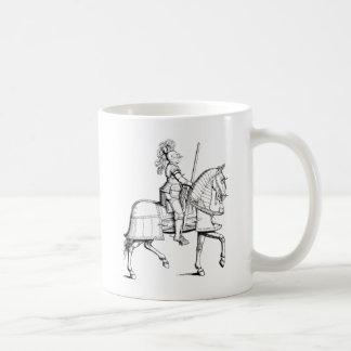 Caneca De Café Cavaleiro na armadura