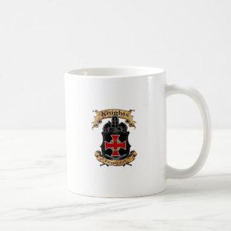 Caneca De Café Cavaleiros Templar