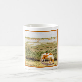Caneca De Café Cavalo selvagem da ilha de Assateague