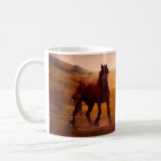 Caneca De Café Cavalo verdadeiro do amor