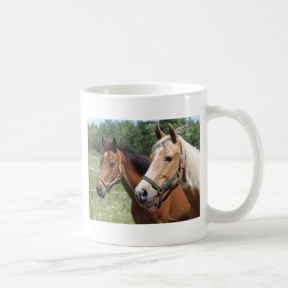 Caneca De Café Cavalos